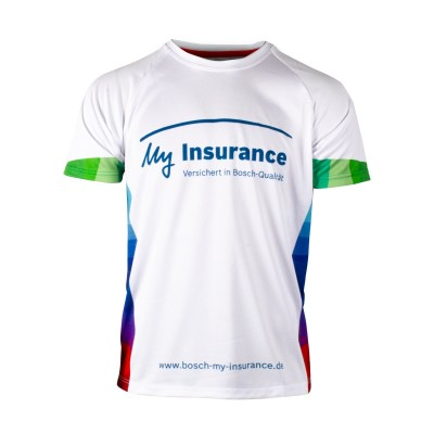 Bosch running shirt men My insurance 2017