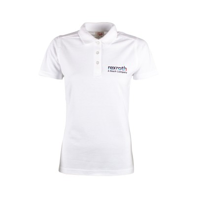 Poloshirt Women »Bosch Rexroth« - white