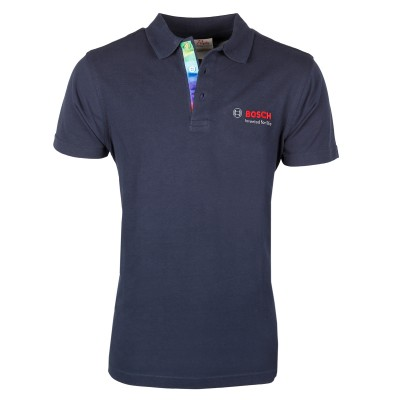 """Poloshirt Men """"Invented for life"""" - Wove"""