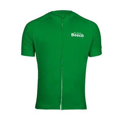 Cycling jersey green #LikeABosch