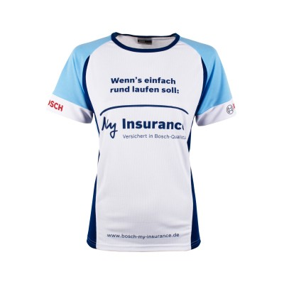 Bosch running shirt women My insurance 2016