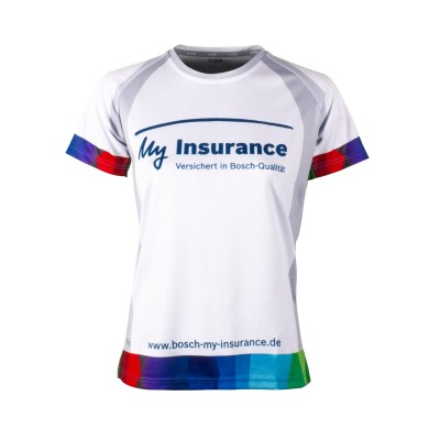 Bosch running shirt women My insurance 2018