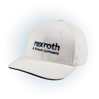 "Baseball Cap ""Bosch Rexroth"" - white"