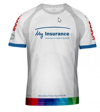 Bosch Laufshirt My insurance 2019